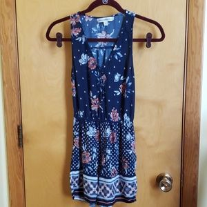 Abercrombie & Fitch • Navy Floral Romper